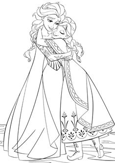 Free Disney Frozen colouring pages are here! 35 Disney colouring games and pictures of your favourite Frozen characters for both girls and boys. We have Anna, Elsa, Kristoff, Sven and even Olaf colouring pages. Frozen Coloring Pages, Adult Coloring Pages, Coloring Books, Frozen Disney, Elsa Frozen, Frozen Kids, Frozen Sisters, Disney Rapunzel, Tangled Rapunzel
