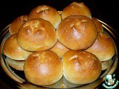 Ароматные чесночные булочки - кулинарный рецепт