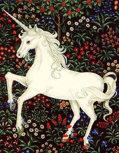 Morning prayer, the Hour of Lauds, with unicorns: Et exaltabitur sicut unicornis cornu meum. . .