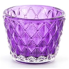 Purple Quilted Gl Votive Candle Holder Hobby Lobby 918896