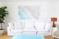 Gray Malin artwork in the Surf Lodge Suite in Montauk