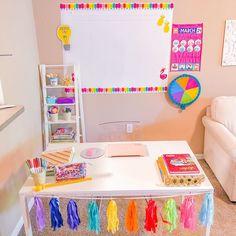 Kindergarten Classroom Decor, Classroom Setup, Art Classroom, School Classroom, Classroom Organization, Organization Hacks, Home Teaching, Teaching Ideas, Teachers Corner
