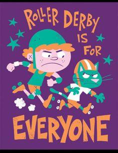 Junior Co-ed derby..yay!