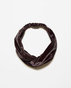 Velvet Turban Hairband | Zara