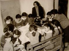 50s school girls