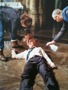 Draco malfoy, harry potter, and tom felton image Photo Harry Potter, Images Harry Potter, Draco Harry Potter, Mundo Harry Potter, Harry Potter Actors, Harry Potter Tumblr, Harry Potter World, Hogwarts, Slytherin