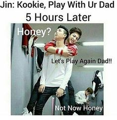 Parents of the year goes to NamJin