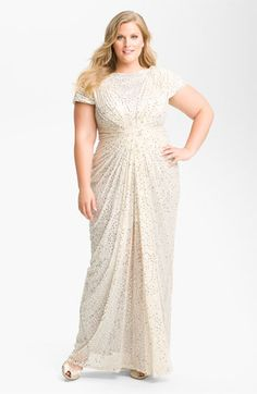 "Similar to gown Octavia Spencer wore when she won an Oscar for 'The Help"". $558 at Nordstrom by Tadashi Shoji."