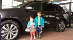 The Brumm family started their weekend off right by picking up their new 2014 #MDX! What cute kids! #courtesyacuraipadcontest #Acura #MDX #Littleton #CO #colorado #courtesyacura #happycustomers
