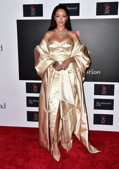 Pin for Later: Stars Pulled Out All the Stops For Rihanna's Glitzy Diamond Ball