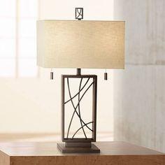 Crossroads Open Base Table Lamp