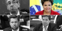 Deputados do DEM e do PSDB colocaram o presidente da Câmara contra a parede: ou ele abre o processo de impeachment contra Dilma Rousseff ou eles retiram o apoio que têm dado a Cunha O deputado e pr…