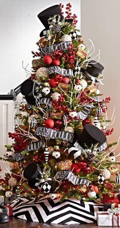 Image result for black gold christmas tree skirt