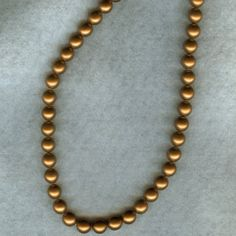 Vintage Pearlized Czechoslovakian Beads by wildtazz on Etsy, $7.50