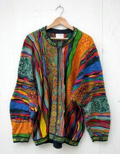 Coogi Sweater This is kind of awful but also I want it.