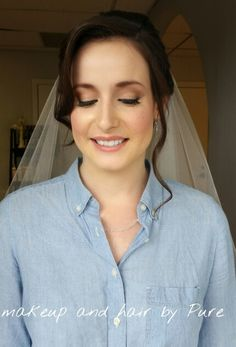 Natural bridal airbrush makeup Airbrush Makeup, Pure Products, Bridal, Natural, Hair, Bride, Nature, Strengthen Hair, The Bride