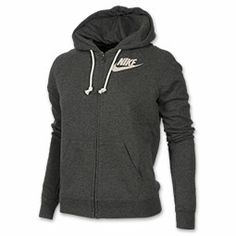 Every girl has that one hoodie in their closet that they wear all of the time; cozying up on the couch, grocery shopping, to the yoga studio. The Women's Nike Rally Full-Zip Hoodie is one of those sweatshirts that you really can wear all over. This loose-fitting hoodie is comfy, cute, and athletic. Coming in a variety of colors, this bold graphic hoodie showcases iconic, sporty style.