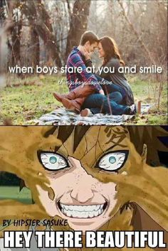 bahahaha Don't we all just love psycho Gaara? I know I do