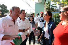Visita por las calles de Altamira.
