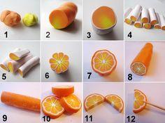 ... Zwischen Bild 5 und 6 einfach mit einem Zahnstocher die blumenartige Form formen.