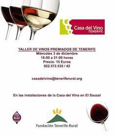 Cata de algunos de los vinos premiados de Tenerife en el año 2014.
