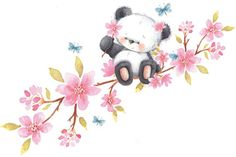 VK is the largest European social network with more than 100 million active users. Niedlicher Panda, Panda Art, Panda Love, Cute Panda, Panda Nursery, Panda Painting, Panda Wallpapers, Blue Nose Friends, Cute Clipart