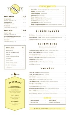 Menu style is a fragile art kind. Like a soufflé, it's easy to get incorrect, and like all cooking, it needs the balance of best spices-- in this . Menu Restaurant, Diner Menu, Restaurant Design, Restaurant Identity, Menu Layout, Print Layout, Food Menu Design, Menu Book, Menu Boards