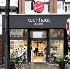 "In Hamburg. Kochhaus is a ""walk-in cookbook."" It's a market that encourages urban dwellers to cook for themselves by making it almost as easy as getting takeout."