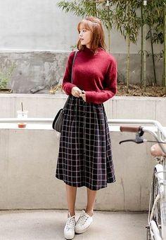 Centa Skirt | Korean Fashion                                                                                                                                                                                 More #MensFashionFall
