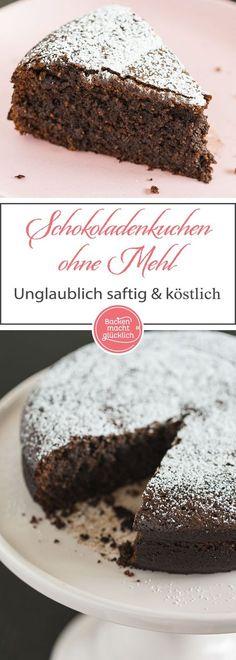 Ein unglaublich saftiger Schokoladenkuchen ohne Mehl, der auch als Dessert durchgeht. Für den gâteau au chocolat sollte man hochwertige Schokolade verwenden. Wer die Backzeit noch weiter verkürzt, erhält einen Schokokuchen mit fast flüssigem Kern