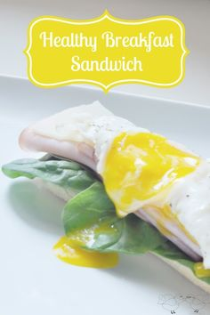 Recipe for a delicious breakfast sandwich with Alpine Lace Reduced Fat Swiss Deli Cheese {The Love Nerds} #LifeIngredients #sponsored #breakfastrecipe #recipe