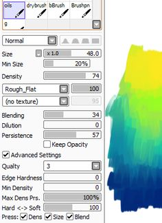 Paint Tool Sai brushes (Do you have anywhere where your brush settings are posted??)