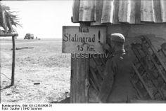 "Sign ""13 km to Stalingrad"", Summer 1942"