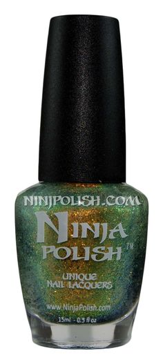 Ninja Polish :: Ninja Polish :: Facets :: Zultanite Ninja Nail Polish Lacquer Floam Holographic metallic effect nail polish @opulentnails #ninjanails #floam