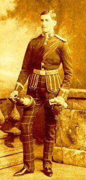 Lt Gustavus Hamilton Blenkinsopp Coulson VC DSO 1st Bn KOSB 18th May 1901 Lambrechfontein South Africa(Boer War) Zulu, British Army, Military History, Tartan, South Africa, African, Victoria, Hero, King