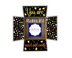 Halloween Care Packages, Deployment Care Packages, Sending Hugs, Fathers Day, Happy Birthday, Packaging, Kit, Stickers, Holiday