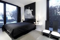 Best-Small-Bedroom-Design-Ideas-for-Men-with-Black-and-White-Color-Concept.jpg (800×531)