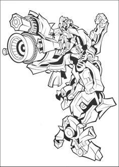 transformers coloring pages ironhide bull | ระบายสีการ์ตูนยอดฮิต ทรานสฟอร์เมอร์ส Transformers coloring ...