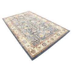 You'll love the Nathanson Light Blue Area Rug at Birch Lane - With Great Deals on all Rugs & Windows products and Free Shipping on most stuff, even the big stuff.