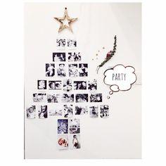 pyo-nさんの、クリスマスデコ,クリスマス,おうちカフェ,クリスマスツリー,クリスマスディスプレイ,海外インテリアに憧れる,インスタグラムpyon0724,インスタグラムしています。,壁/天井,のお部屋写真