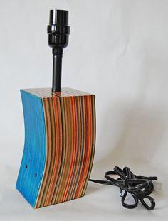 Skateboard Lamp recycled skateboard lamp | diy | pinterest | recycling, skateboard