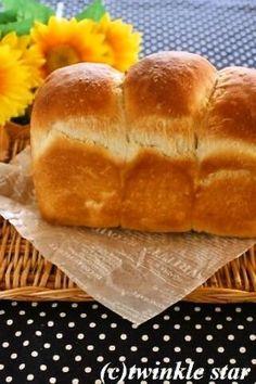「ホシノ天然酵母の山食」una   お菓子・パンのレシピや作り方【corecle*コレクル】
