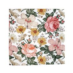 The Mini Scout Muslin Swaddle Blanket - Baby Girl Swaddle Blanket (Garden Floral baby blanket) Muslin Baby Blankets, Baby Girl Blankets, Swaddling Blankets, Spring Newborn Photos, Soft Play Mats, Textiles, Floral Nursery, Baby Girl Newborn, Garden