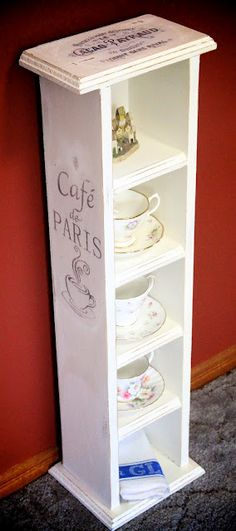 how to use an old cd holder