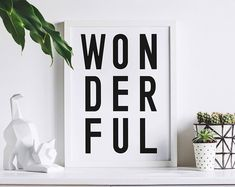 Typographic home decor prints. by osotweedesigns on Etsy Etsy Seller, Etsy Shop, Creative, Prints, Home Decor, Products, Decoration Home, Room Decor, Home Interior Design