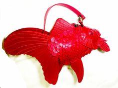 スムース革金魚小物ケース | ATELIERIWAKIRI