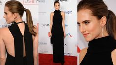 #TheList: Ladies of the Night. Allison Williams in Christian Dior.