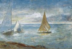 341. Carrà, Carlo - 1936 - Tramonto sul mare