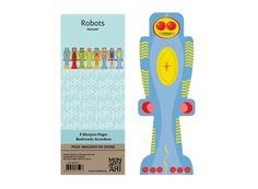 Mon Petit Art - Robotok könyvjelző 8 db-os
