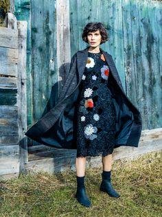 The countryside, ELLE Romania, February 2015 February 2015, Romania, Countryside, Goth, Style, Fashion, Gothic, Swag, Moda